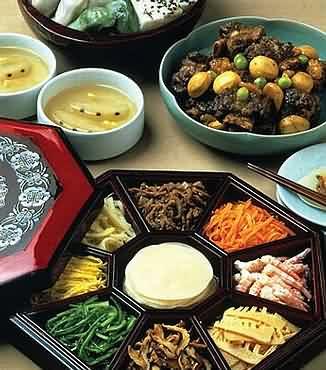 四种韩国传统中秋节美食(图)-福建美食